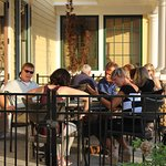 There are patios and porches and lots of ways to dine.