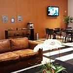 Parte do Lobby do Quality Curitiba