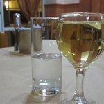 Ouzo and white wine