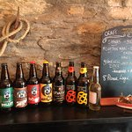 All local craft beer and ale selection