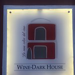 Wine-dark house Foto