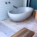 deck tub