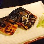 Grilled mackerel is yummy!