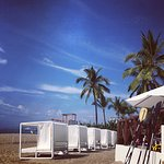Cabana's on private beach / extra cost of aprox $35 a day