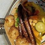 couscous boulettes merguez
