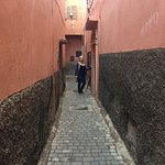 Alleyway leading to Riad