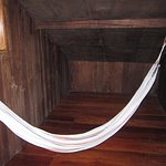 The hammock. Give it a try.