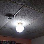 Poor room lighting
