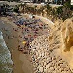 Cala de Mal Pas vista desde el Balcón del Mediterráneo