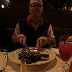 The bone-in rib steak