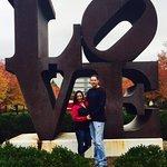 LOVE sculpture by artist Robert Indiana, 1970.