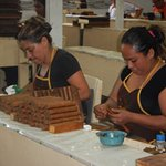 We went on the Cigar factory tour - better than tours we did in Cuba.