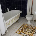 CLAW FOOT TUB! And I fell in love with the tiles!!