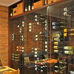 """Our wine cabinet, awarded by """"The World of Fine Wine"""""""