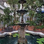 Couryard fountain