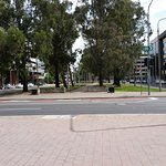 Main Street of Canberra at 10:30 am on a Saturday