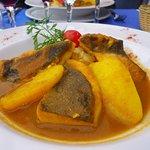 Filet de Saint Pierre au jus de bouillabaisse