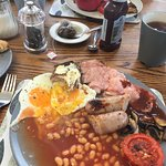 Fantastic home cooked breakfast..