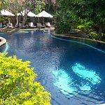 Super piscine à Sawah Lovina !!!