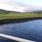 "River Swale from the ""Swing Bridge"" (about 10 mins from the Laurels)"