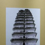 Small Wild Goose Pagoda Bing Cracked in the Middle