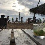 Sunset vb, reggae and cocktails. Nice.