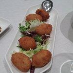 Croquetas de jamon (Deliciosas,caseras.)