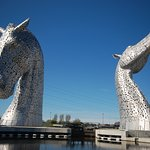 Kelpies Visitor Centre, Falkirk
