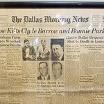 "Newspaper 24May1934 ""Posse Kills Clyde Barrow and Bonnie Parker"""