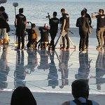 zum Sonnenuntergang, Zadar, ist echt was los