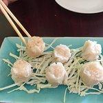 Steamed shrimp shumai