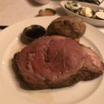 Prime rib (sorry my picture does not do justice).