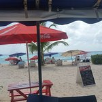 the view of the beach, daily specials
