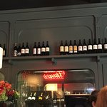 Cheevers wine case and bar