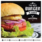 "The best burger in ""jardan"""