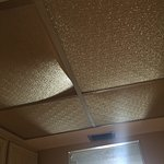 Disgusting, run down, mold, broken furniture and tiles in ceiling. Rude staff and questionable r