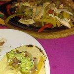Chicken fajitas at Ritas Fajitas