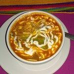 Tortilla soup at Ritas Fajitas