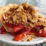 Strawberry Rhubarb Pie at The Roost
