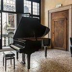 Sala Concerti con pianoforte Yamaha a mezza coda