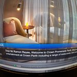 Nice detail from the Hotel CROWN PROMEDANE , Perth. Australia Dr. Ramon Reyes, Diaz, MD
