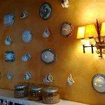 Detalle decoración salón