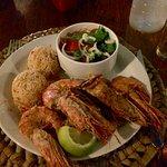 Huge shrimps!