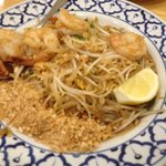Pad Thai Noodles with Prawns