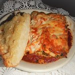 Hot and delicious Chicken Lasagne