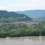 toen of Rossatz across Donau, Weisskirchen in background