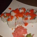 Yummy sushi, ramen, and Edamame!