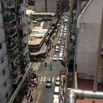 Esta es la vista que se tiene desde el piso 9