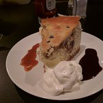 Chocolate chip peanut butter cheesecake
