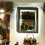 Interior design in Kavkaz bar
